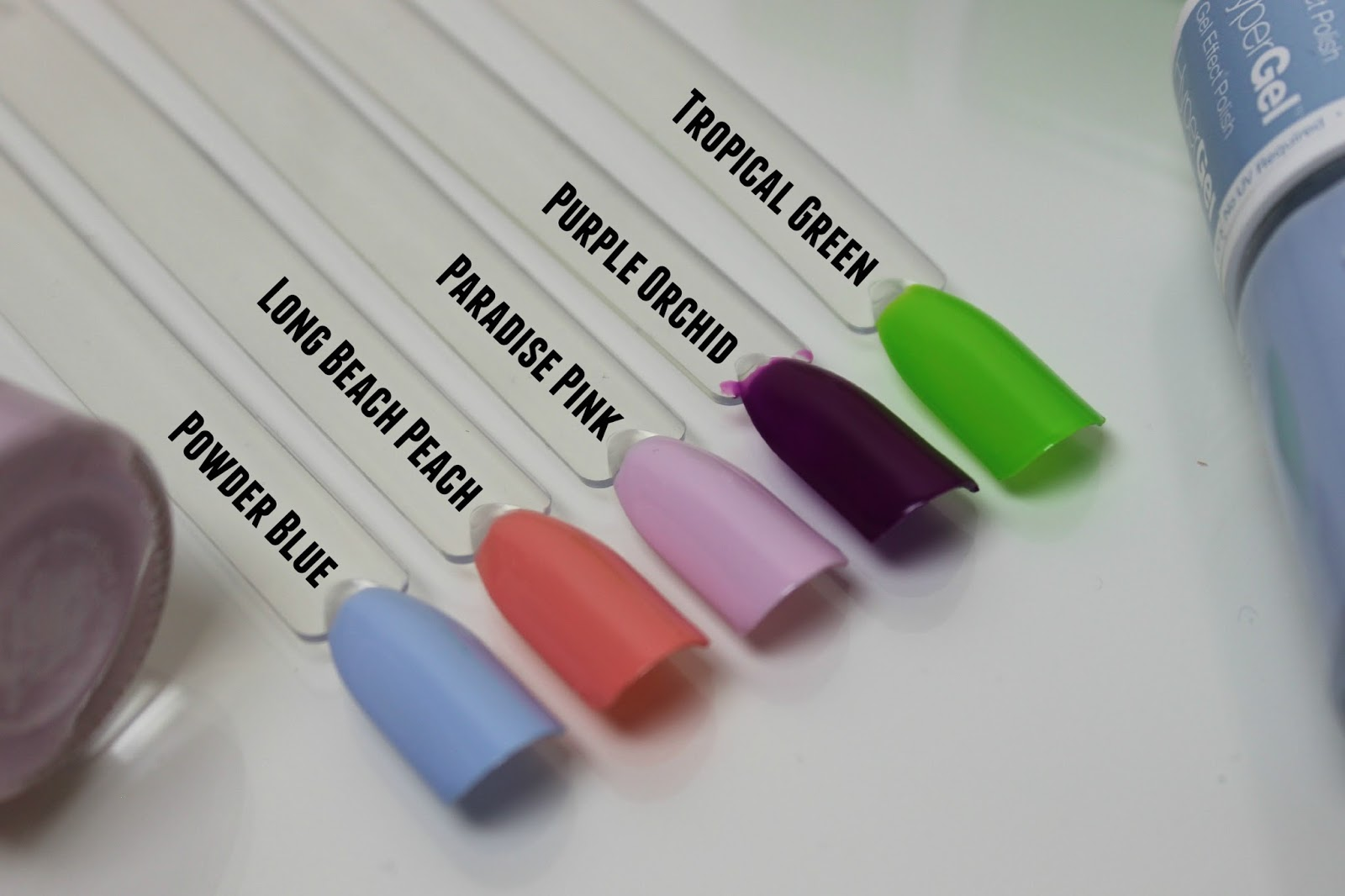 A picture of Models Own Hyper Gel Spring Shades