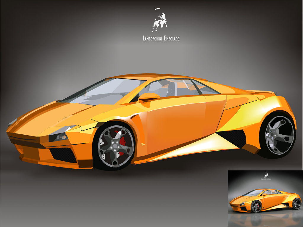 World Of Cars: lamborghini embolado Images - 1