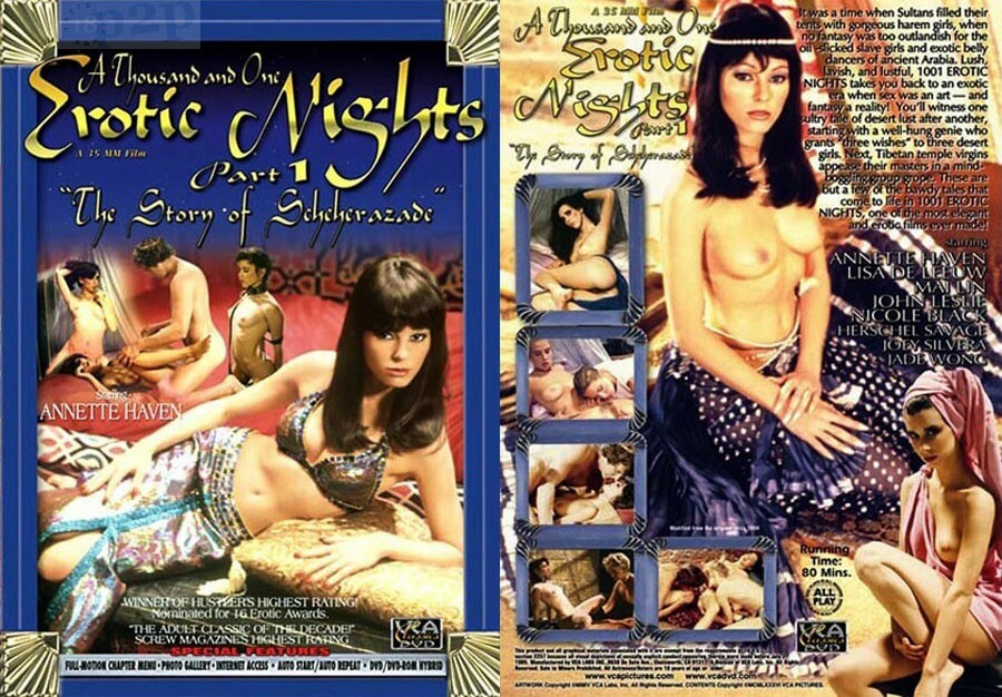 Scheherazade 1001 erotic nights