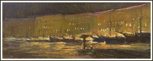 - Notturno sotto la pioggia - Portoferraio