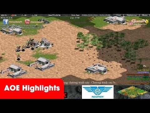 AoeHighlights - Trận thi đấu 44 kinh điển của team GameTV tính đến...