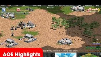AoeHighlights - Trận thi đấu 44 kinh điển của team GameTV tính đến thời điểm hiện tại