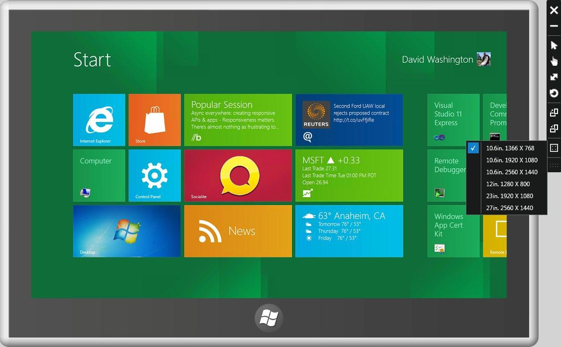 to different screens Building Windows 8 Site Home MSDN Blogs