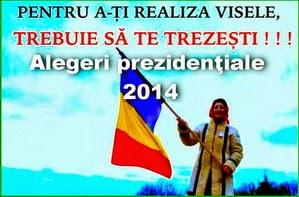 Alegeri prezidenţiale 2014: 14 pentru Cotroceni! Dumneavoastra, alegeti!