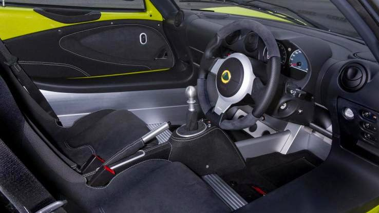 2015 Lotus Elise S Cup Interior