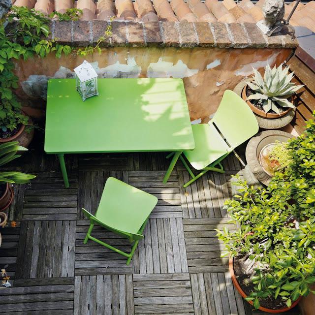 Zic Zac Di Nardi Il Set Da Arredo Per Balcone : Hometrotter home style casa arredamento design