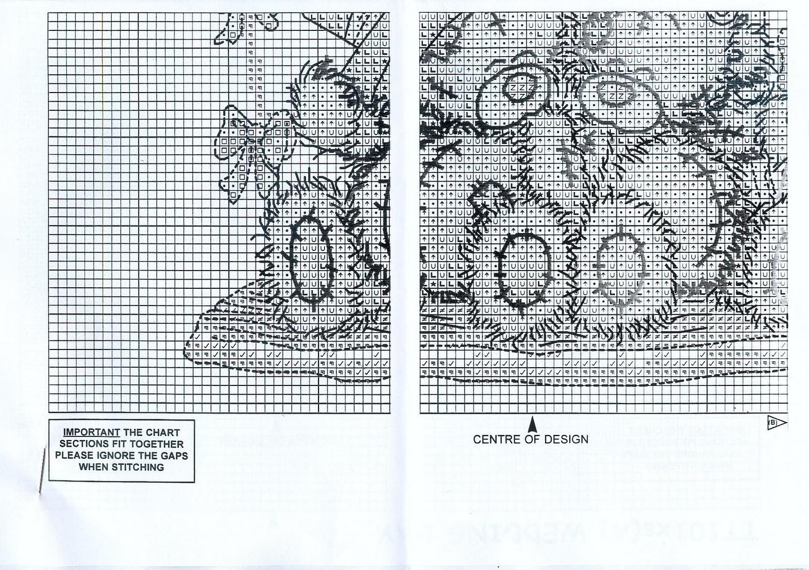 Схемы вышивки крестом мишки тедди свадьба 93
