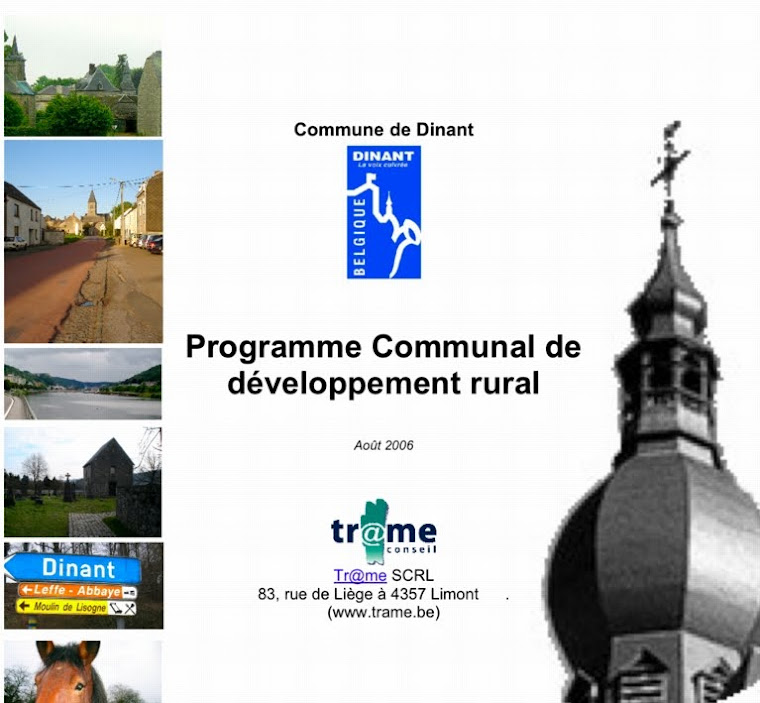 Documents du PCDR de 2006