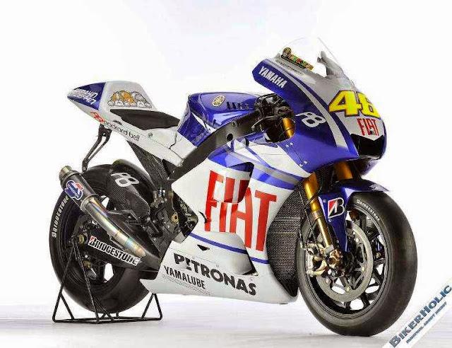 Gambar Motor Balap Yamaha MotoGP Valentino Rossy