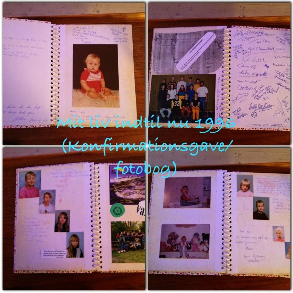 personlig bog med billeder