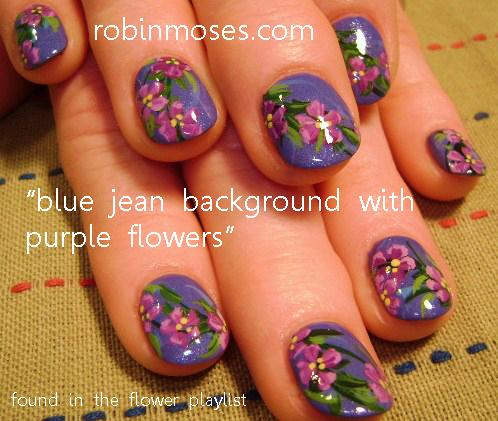 Prom Nail Art Nails For Prom Purple Prom Nails Blue Nails Blue