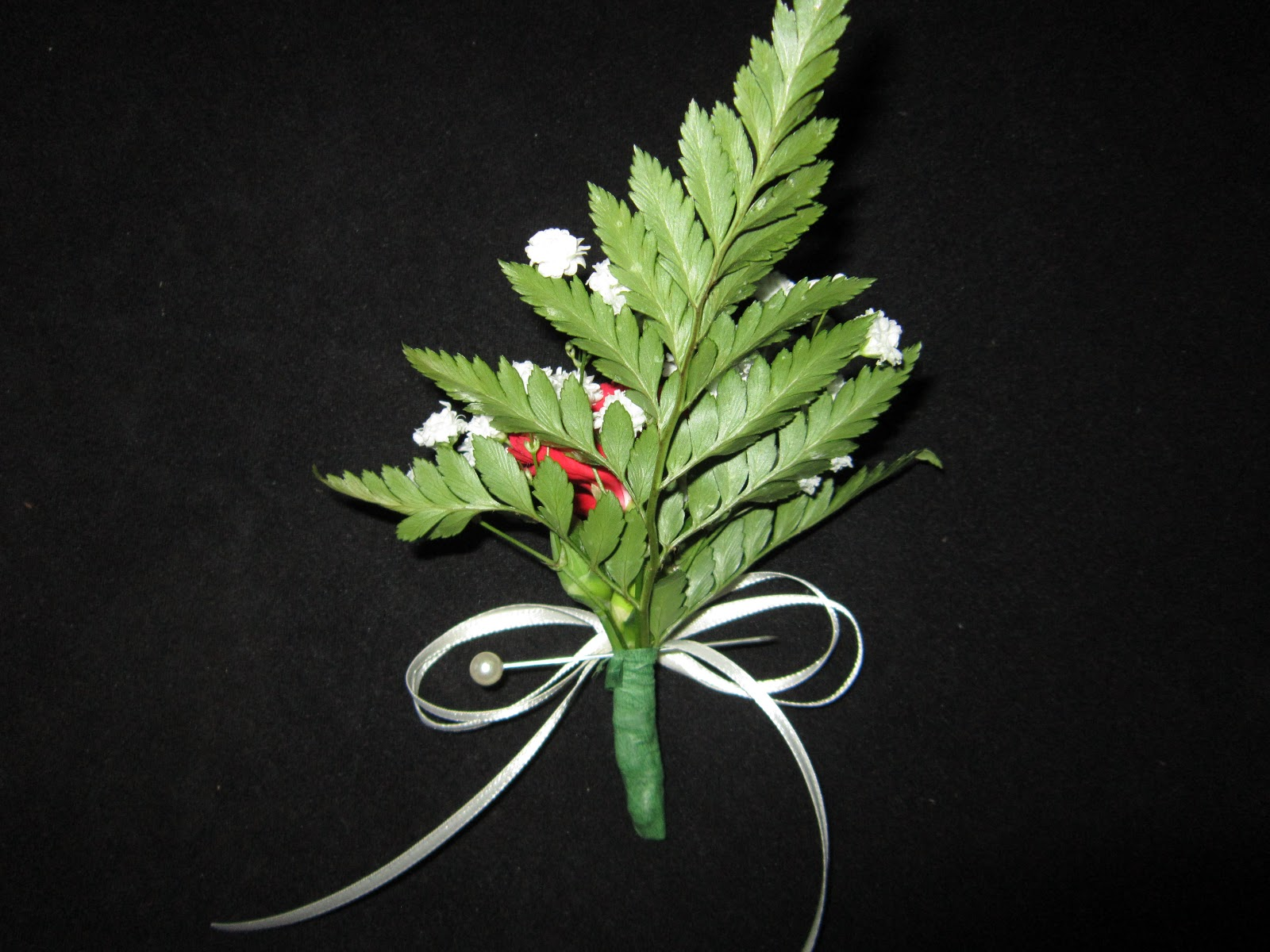 how to make a simple corsage