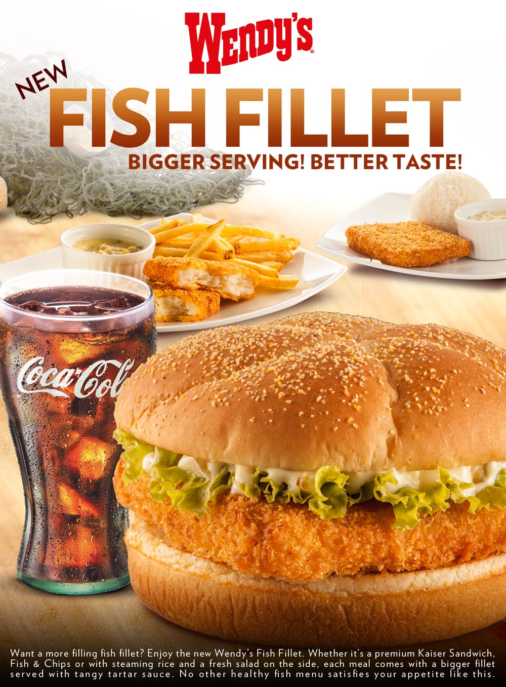 Sm city marilao wendy 39 s fish fillet for Wendy s fish sandwich
