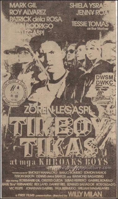 movies, Zoren Legaspi, Tikboy Tikas at mga Khroaks Boys