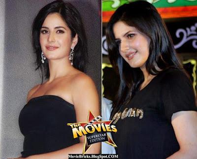 Katrina Kaif, Zarine Khan