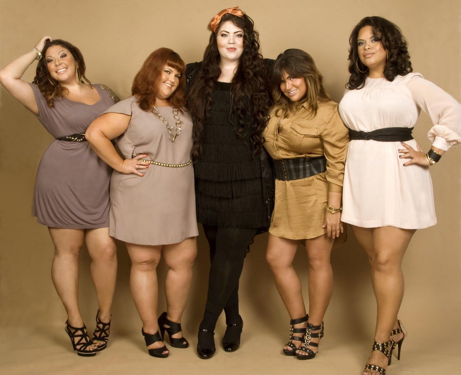 Фото красивых и полненьких женщин 1 фотография