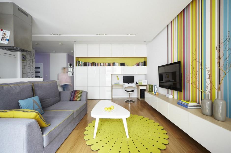 A deco departamentos para envidiar colores citricos for Colores para departamentos