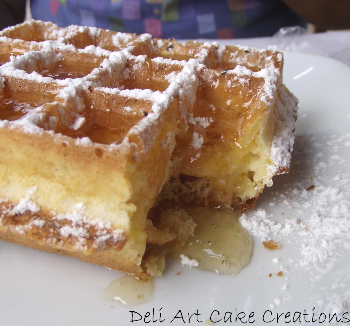 Blog Deli Art Cake Creations : Waffles Deli Art Cake Creations