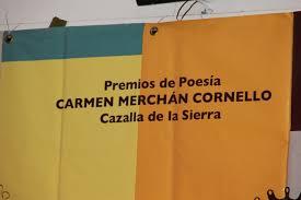 PREMIO DE POESÍA CARMEN MERCHÁN CORNELLO 2020