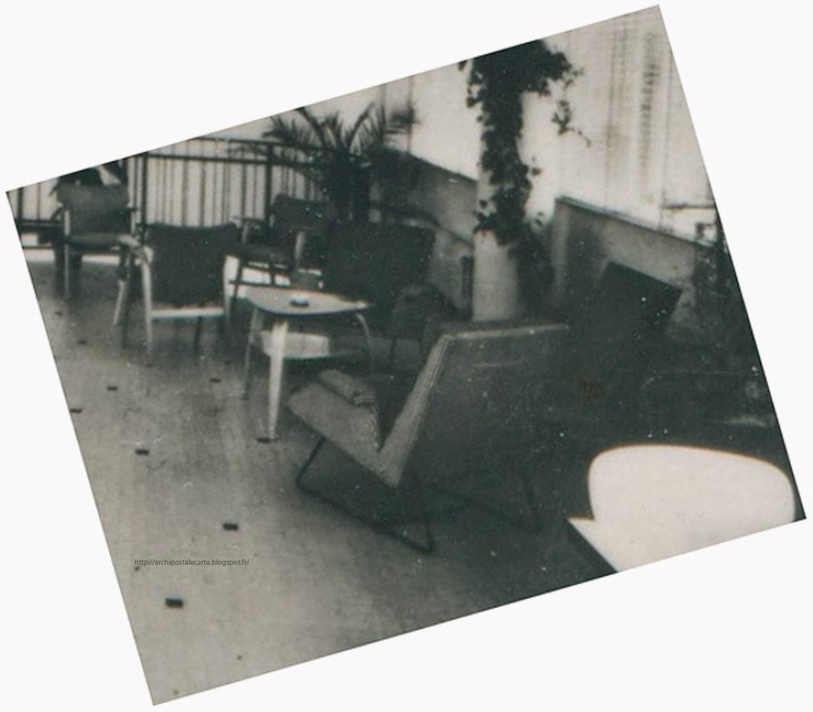 architectures de cartes postales 2 charlotte perriand pour meubler royan. Black Bedroom Furniture Sets. Home Design Ideas