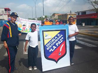 Caminata por la paz y la vida, parroquia Miguel Peña