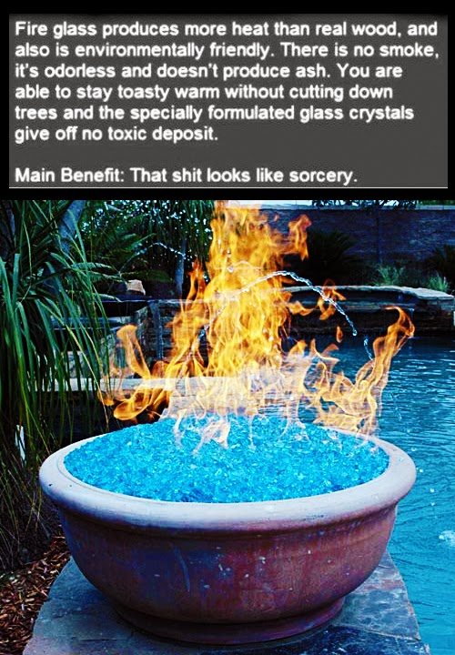 Fire Glass : Ultimate Cool Stuff for Heating