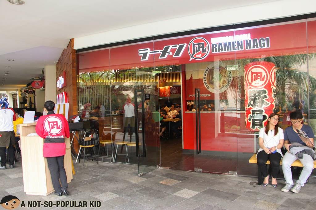 Ramen Nagi in Greenbelt 3, Makati City