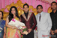 Celebraties at Actor Bharat n Jessy Wedding Reception Photos+%252874%2529 Actor Bharath n Jessy Wedding Photos
