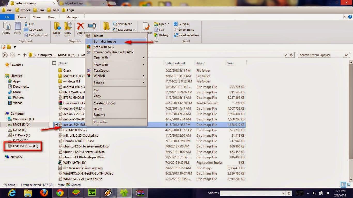 Tutorial Cara burning atau membakar file, video, musik, film, software. dan dokumen lainnya melalui PC di Windows XP, Windows Vista, Windows 7, dan Windows 8 tanpa software apapun dengan cara cepat, simpel, dan mudah bagi para pemula.