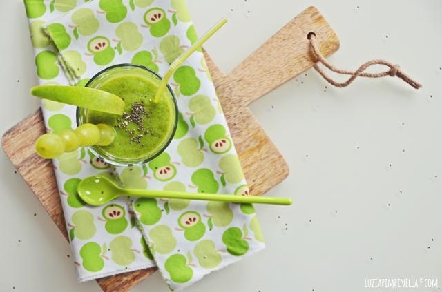 green smoothie rezept - immun booster | luziapimpinella.com