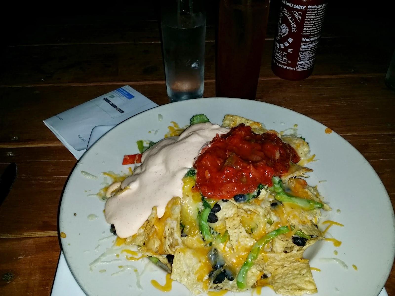 Nachos at Bay 839 Pacific Island Grill