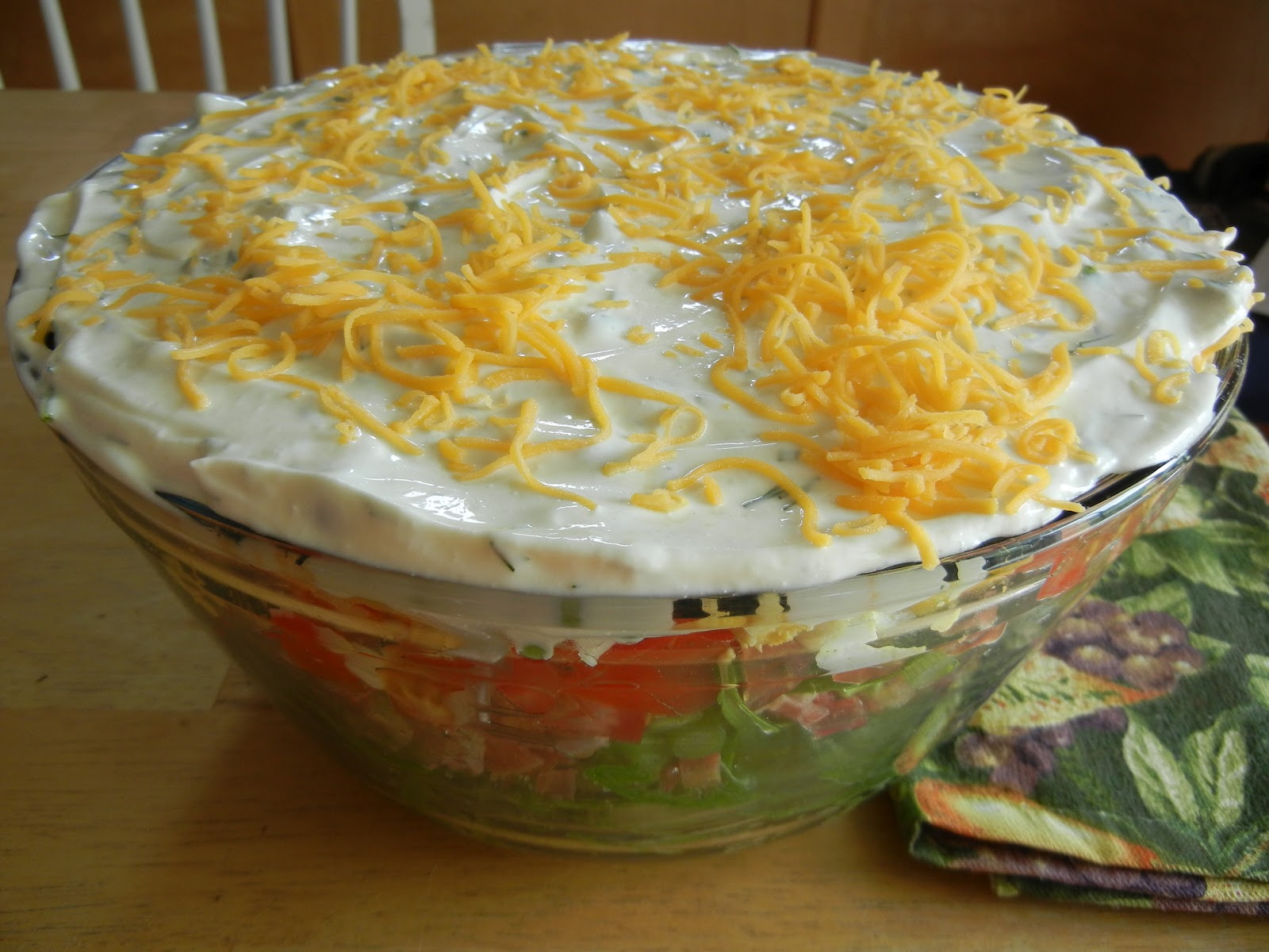 From My Southwest Kitchen: Layered Salad