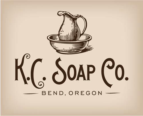 Logótipos Vintage - K.C. Soap Co. - Miller