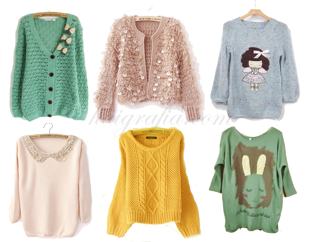 womens sweater pastel