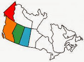 Canada Provinces Visited in RV