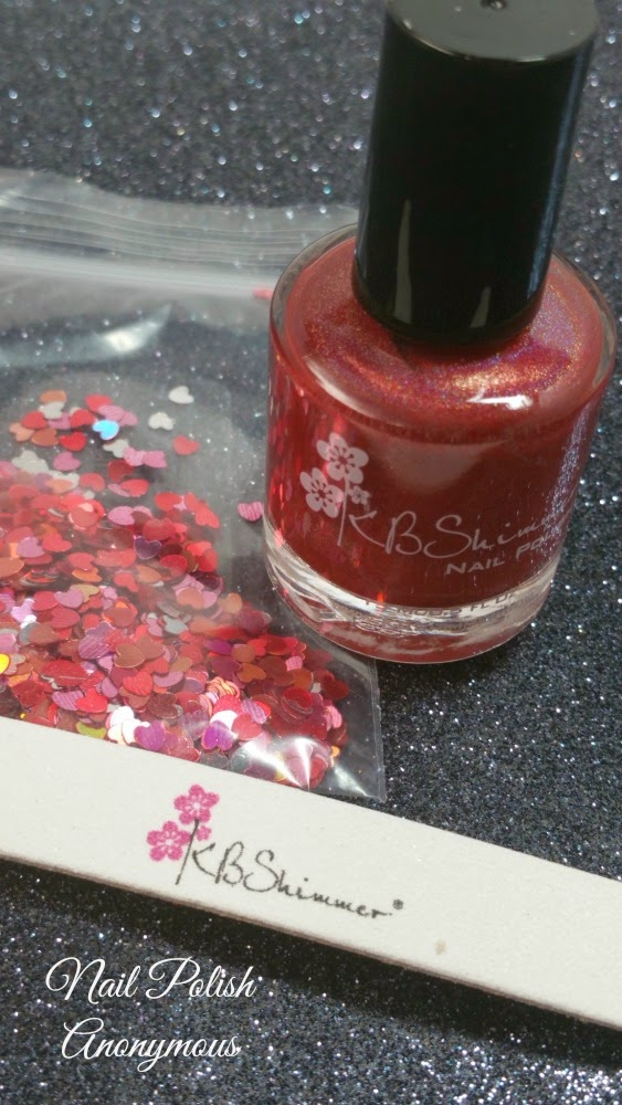 Nail Polish Anonymous: Kbshimmer\'s Men are from Mar-sala Photos & Review