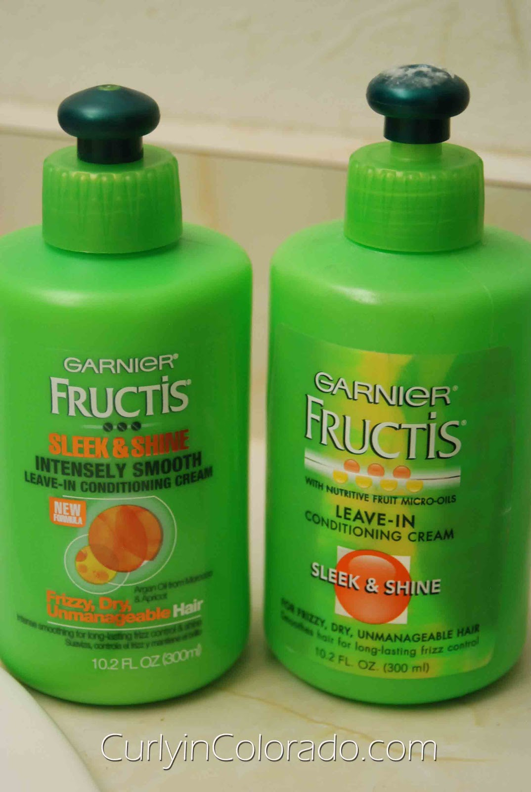 Review: Garnier Fructis Sleek & Shine Leave-In - Curly in Colorado