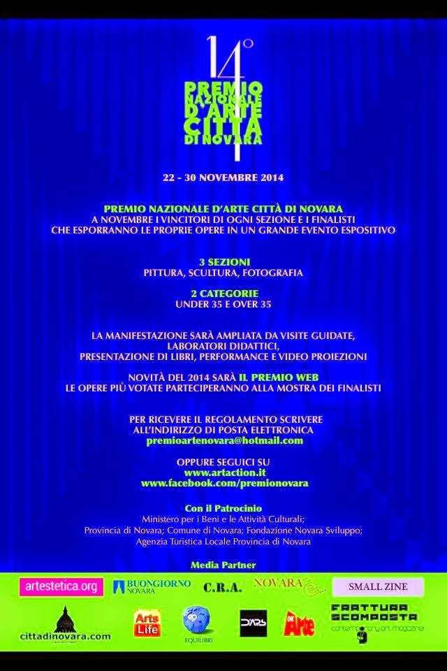 PREMIO NAZIONALE CITTA' DI NOVARA 14° Edizione