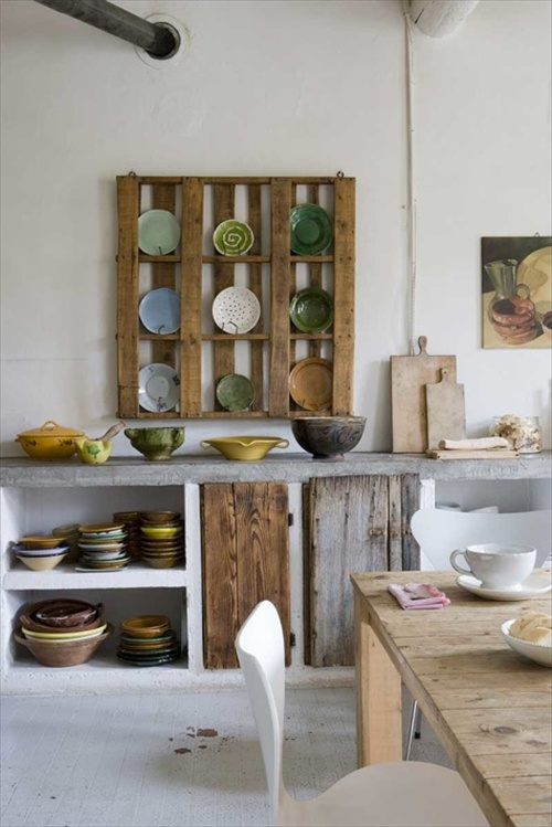 Pallet Furniture Kitchen