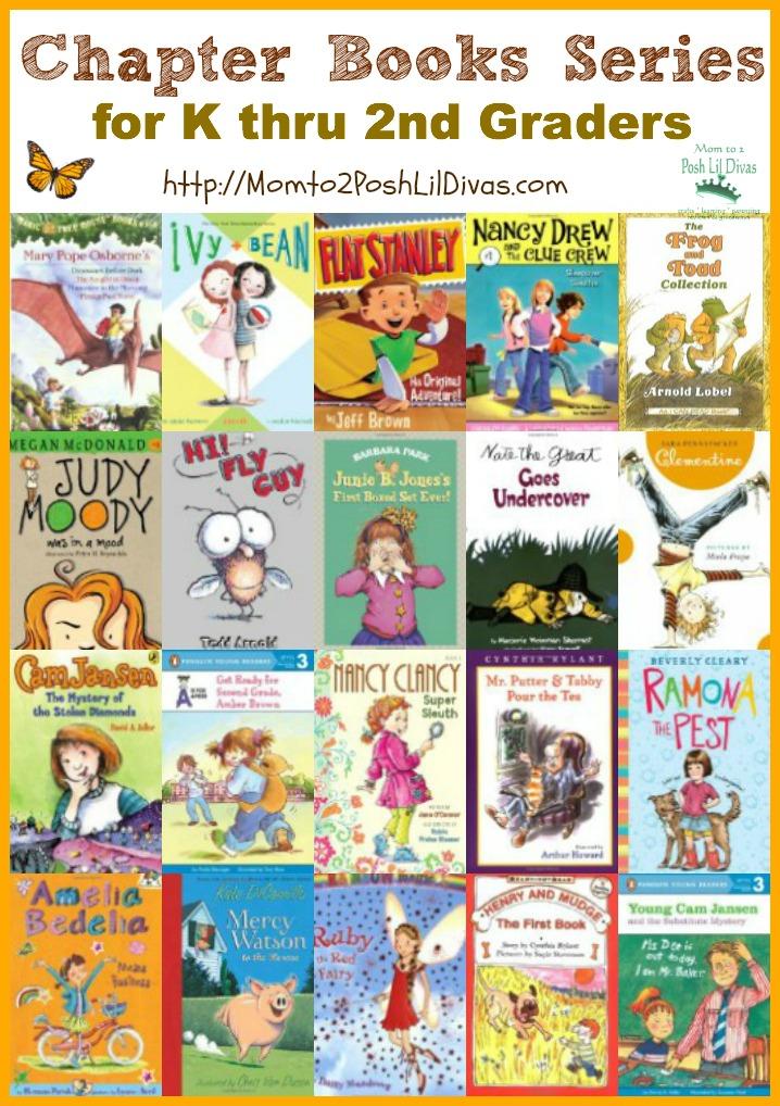 Mom to 2 Posh Lil Divas K thru 2nd Grade Chapter Book Series Our