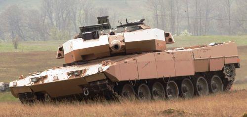 Dua Tank Leopard Tiba di Indonesia