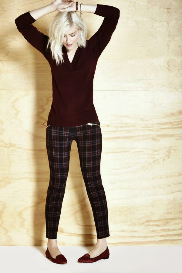 fall plaid pants