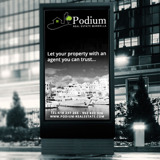 Property Rental Agents in Marbella - Podium real estate Marbella