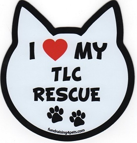 LOVE MY TLC RESCUE!