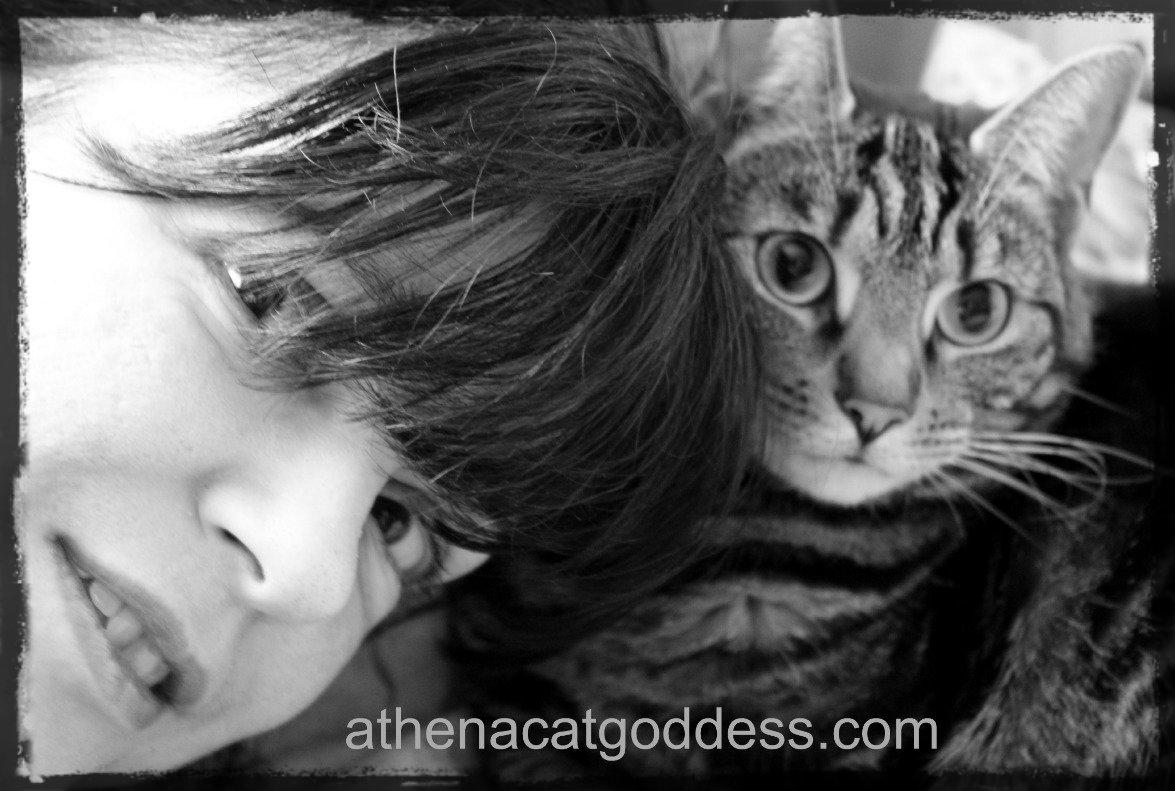 Athena and Mum Marie