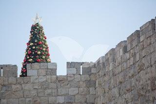 Cidade de Jerusalém está pronta para o Natal