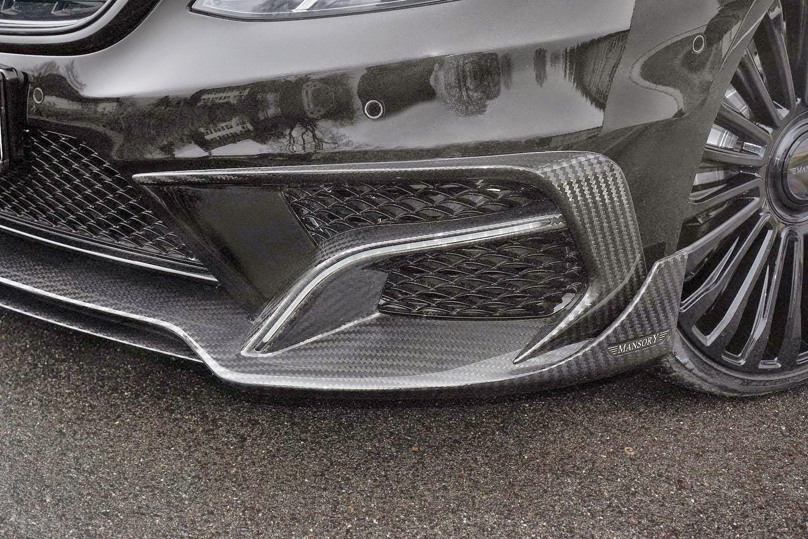 w222 bumper