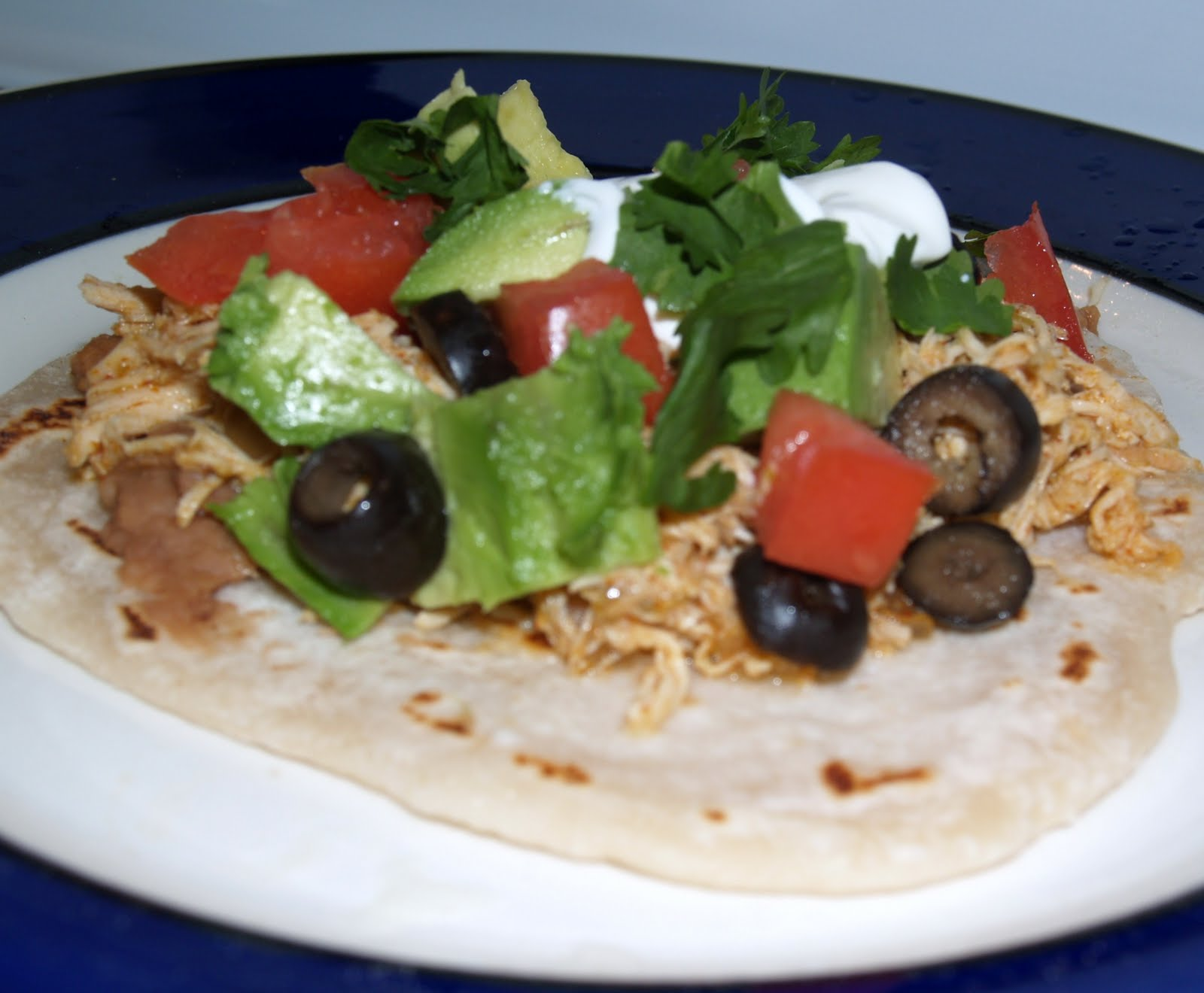 Lime Chicken Soft Tacos images