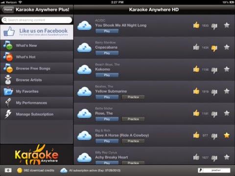 Aplikasi Karaoke di Android