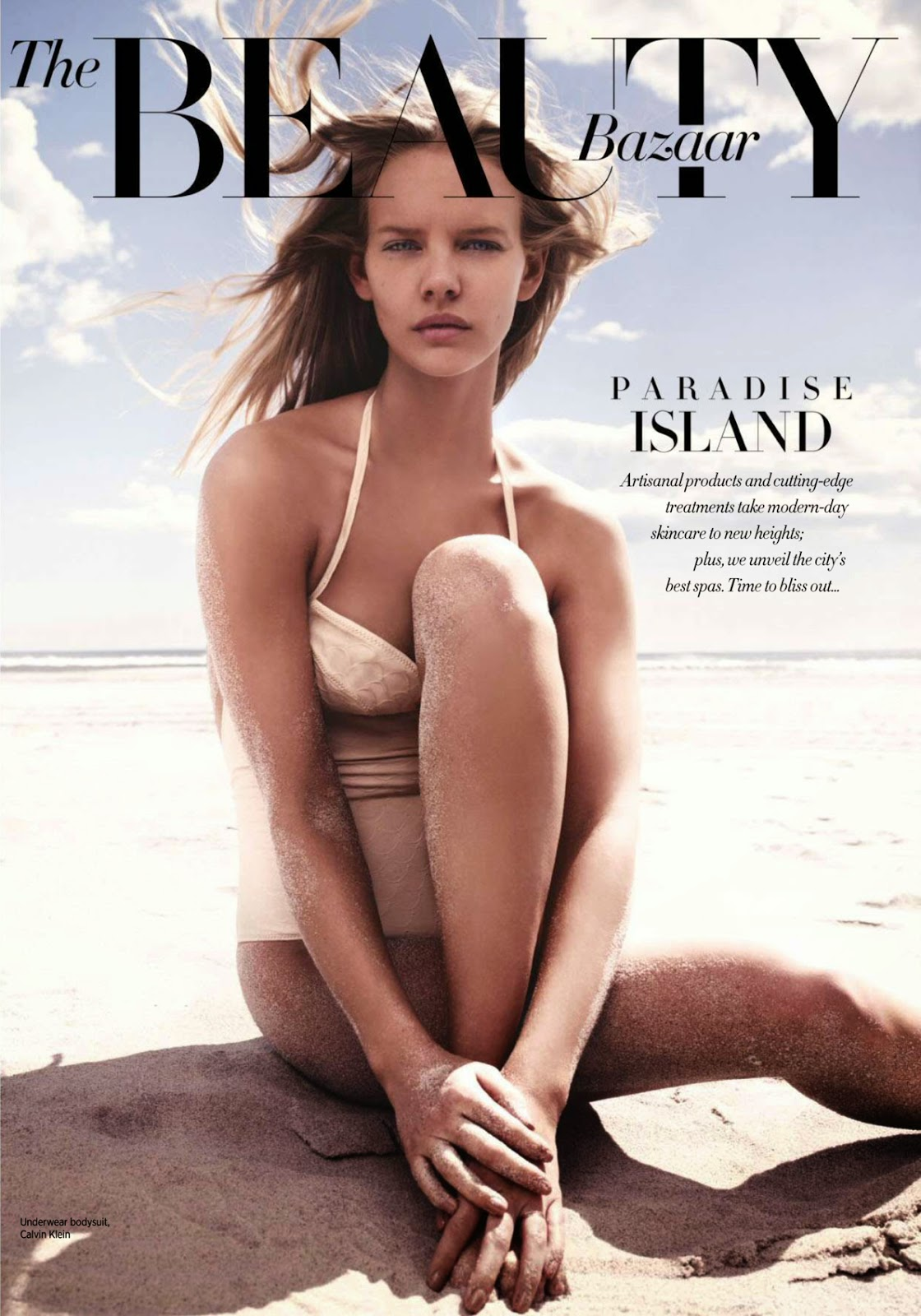 Model: Marloes Horst for Harper's Bazaar Singapore